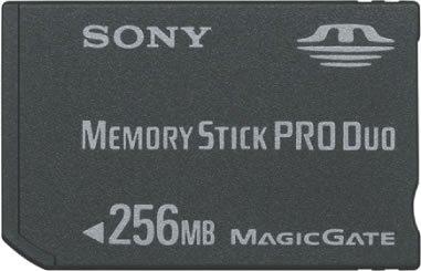 SONY ニュー・メモリースティックPROデュオ MSX-M256S 256MB