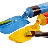 Mont Marte Acrylfarben-Set 24Farben 36ml, perfekt für Leinwand, Holz, Stoff, Leder, Karton, Papier, MDF und Basteln - 6