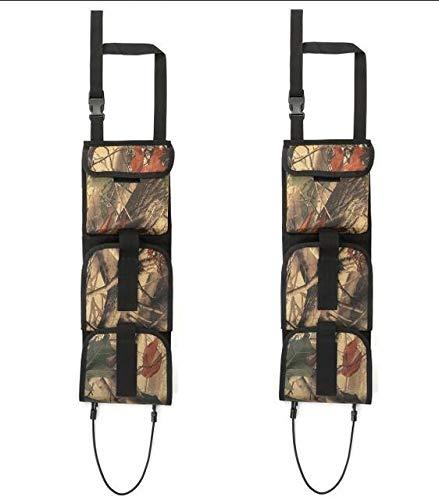 XFC-QJIA、 タクティカルガンケースのために車のフロントシートバックポケットハングバッグライフルスリングタクティカルポーチホルダーラック狩猟アクセサリー (色 : Other)