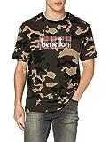 United Colors of Benetton (Z6ERJ T-Shirt Suéter, Verde 64w, S para Hombre