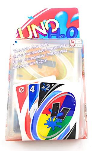 – Uno – Juego de Cartas Games UNO Classic Transparente Playa