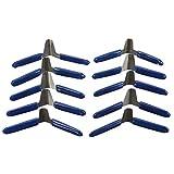 Milageto 10pcs Cuñas Candados Kit de Herramientas de Cerrajería Décapsuleur Outils