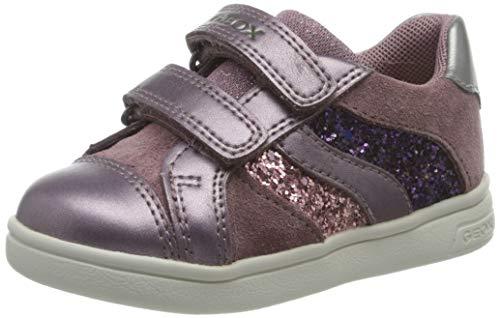 Geox B DJROCK Girl A, Sneaker Bambina, (Rose Smoke), 26 EU