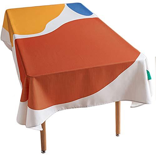YUNSW Mantel De PVC Creativo Y De Moda, Mantel Hueco Impermeable Y A Prueba De Aceite, Mantel Rectangular De Plástico para Mesa De Centro para El Hogar