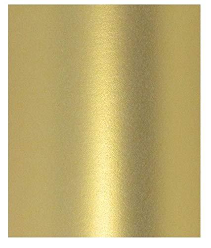 Papier, A4-Format, goldfarben, Peregrina-Echtgold, Perlglanz-Optik, 120 g/m², doppelseitig geeignet für Inkjet- und Laserdrucker, 10 Stück