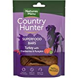 NATURES MENU Country Hunter Superfood Bars Turkey with Cranberries & Pumpkin (7 x 100g)