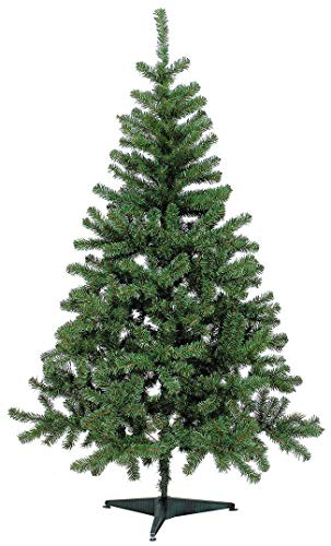 Holiday Basics 4 Foot Artificial Christmas Tree with 350 Tips (Green)