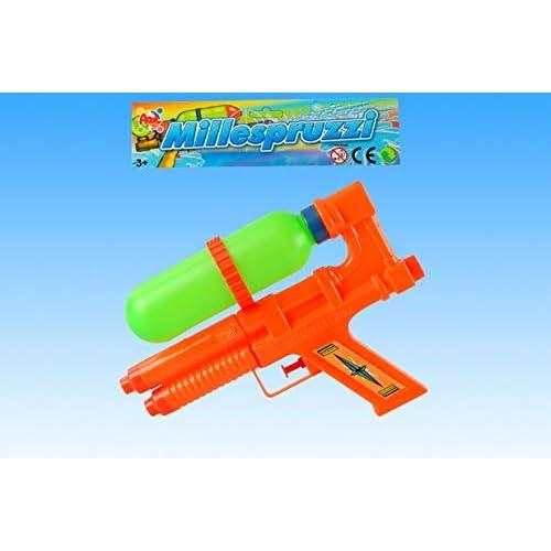 Apel Plastik- Pistola Acqua con Serbatoio a 2 Spruzzi, Multicolore, APE467