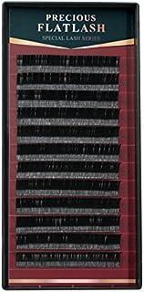 まつげエクステ マツエク プレシャスフラットラッシュ (12列) (Cカール 0.20mm 9mm)