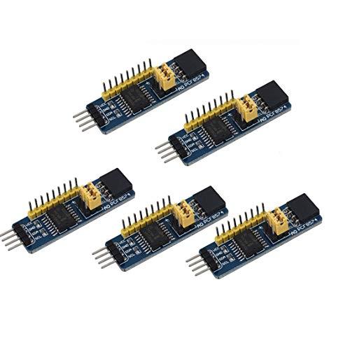 DollaTek 5Pcs PCF8574 IO Erweiterungsplatine I/O-Expander I2C-Bus Auswertungs-Entwicklungs-Modul