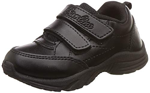 Liberty Unisex's Black Formal Shoes- 8 Kids UK/India (25 EU) (01Gola)