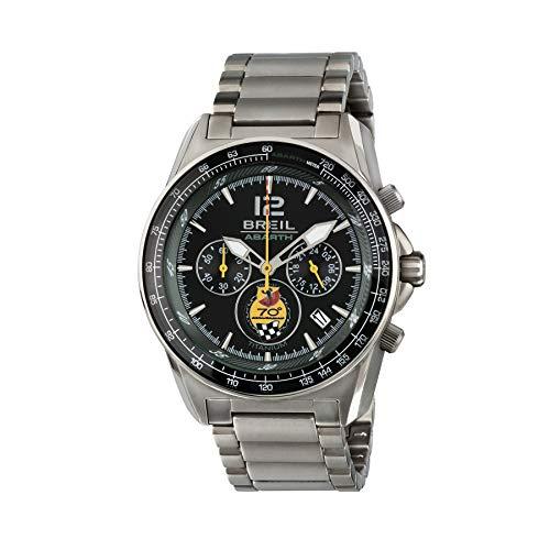 FCA Uhr Abarth Chronograph BREIL Celebration Watch aus Titan erste Produktion mit Seriennummer 6002350618