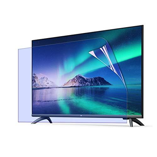 GFSD Anti Radiación Plasma Protector de Pantalla TV, Anti Reflexión Filtro Luz Azul Anti para LedTV, Personalización Soporte (Color : HD Version, Size : 52 Inch 1161 * 661mm)