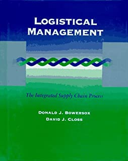 Logistical Management: The Integrated Supply Chain Process