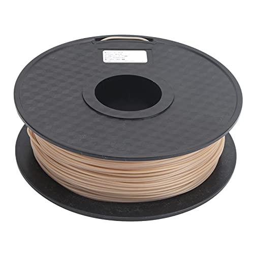 Filamento para impresora 3D, filamento Mezcla de filamento de 1,75 mm de 20% de madera reciclada y polímero para herramientas