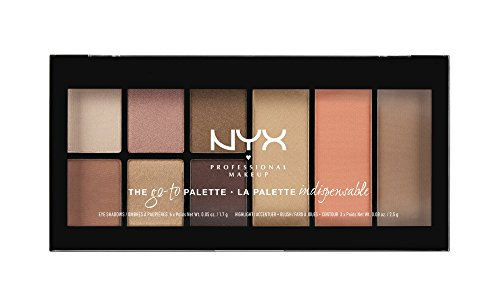 NYX PROFESSIONAL MAKEUP Go-to Palette, Wanderlust, 0.54 Ounce