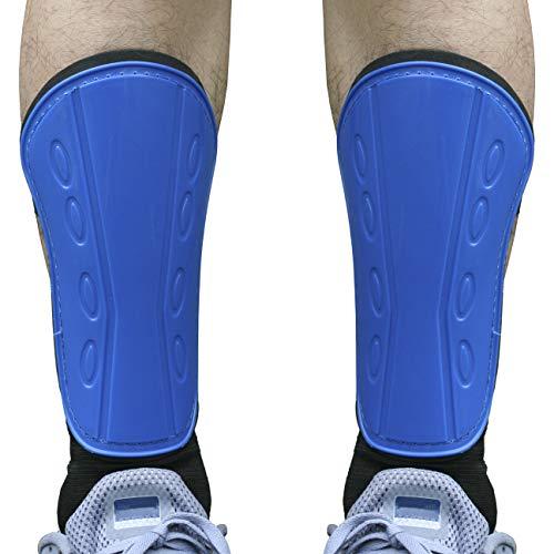 Senston Parastinchi con Supporto per Caviglia Parastinchi da Calcio Unisex Adulto Gioventù Calcio Sport Proteggi
