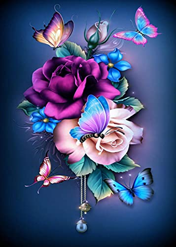 ZMGYA Rompecabezas Adultos 1000 Piezas Fresh flowers-4000 Art Painting Puzzle Cumpleaños Navida Regalo para Niños DIY 3 4 5+ Años