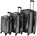 Samsonite Winfield 2 Hardside Luggage with Spinner Wheels, Charcoal, 3-Piece Set (20/24/28)