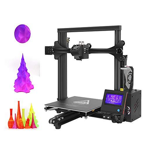 YXFYXF 3D Kit De Bricolage Ensemble D'Auto-Assemblage Simple Cadre Stable avec Haute PréCision, Double Extrudeuse MéLangeant Le Bec De Couleur, Pinter Rapide, DéCoration d'art Jouets De MéDecine