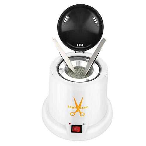 Stérilisateur UV Machine désinfection Nettoyage des outils de clous Manucure Maquillage Tatouage Tool Haute Température Nettoyage artistique des ongles avec sable de quartz (EU)
