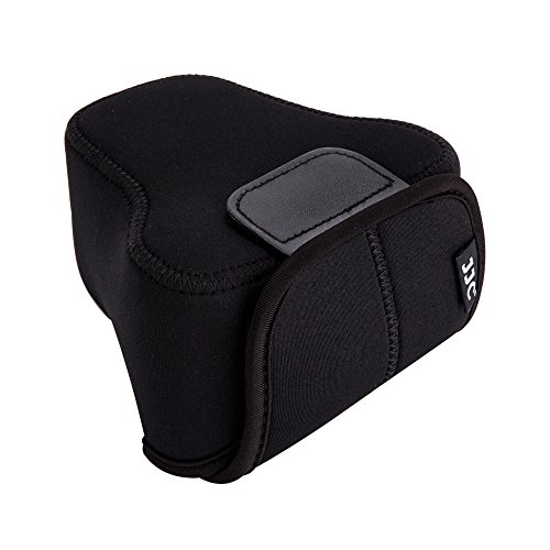 JJC Neoprene Camera Case Protective Sleeve Pouch for Fuji Fujifilm X-T30 X-T20 X-T10 X-T100 + XF 18-55mm f2.8-4/XF 16mm f1.4 Lens,Canon EOS M50 M5 M6 Mark II + EF-M 15-45mm/EF-M 18-55mm Lens and More