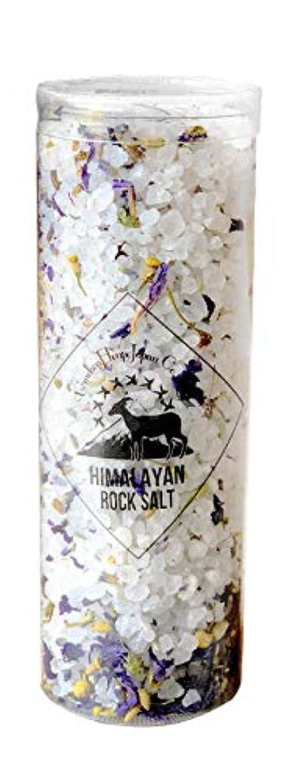 オアシス何ブラシヒマラヤ岩塩 バスソルト ホワイト ハーブ&スパ 300g(10回分)