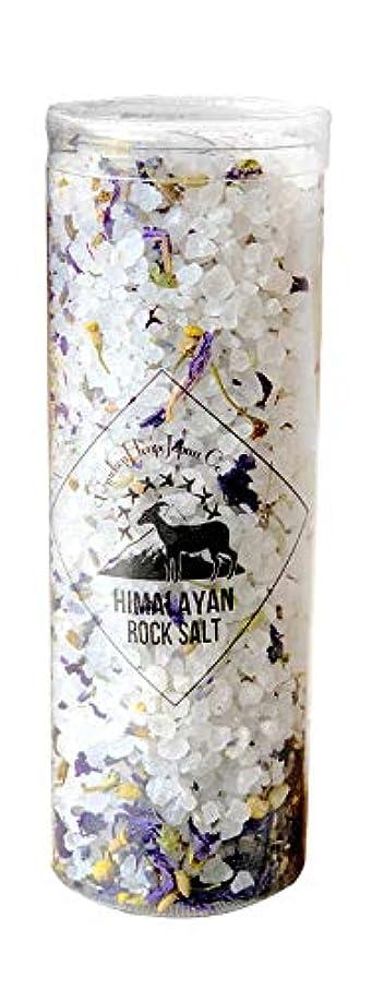シャツメタルライン受けるヒマラヤ岩塩 バスソルト ホワイト ハーブ&スパ 300g(10回分)