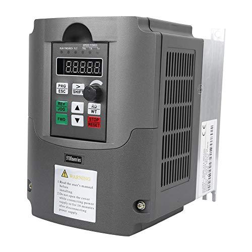 Convertidor de frecuencia, inversor ajustable de varias velocidades, monofásico 220 V a trifásico 380 V Controlador de motor 5.5KW NFLIXIN 9100-1T3-00550G con control vectorial no inductivo