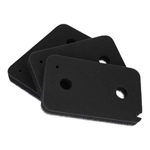 3 x Schwammfilter Schaumstoff Filter Schaumfilter für Wärmepumpentrockner Trockner Miele 9499230 T8861WP T 8164 WP