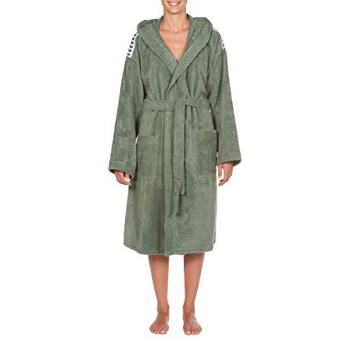 ARENA Bademantel Core Soft Robe 001756 Army White S