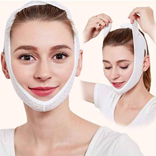 Visage Masque Minceur, Visage de Masque de Cou de beauté lèvent la Ligne Mince de Visage de Forme réduisent Le Double Costume de Bandage de Menton pour la Femme