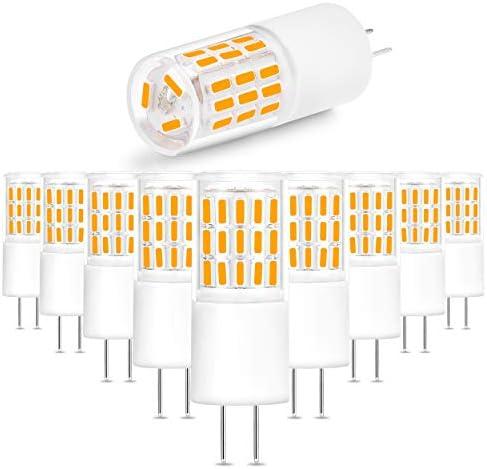 Ziomitus G4 3W Bi Pin LED Bulbs 2700k Warm White Replace 30W 25W Halogen G4 T3 JC Bi Pin Base product image