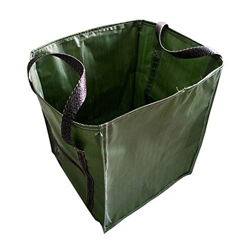Garbage bag-Z Sac à ordures de Jardin imperméable à l'eau, Sac à Feuilles caduques Move Large Patio Durable Sac de déchets de Feuilles Vertes durables, Vert (68 * 68 * 70CM) (Taille : 68 * 68 * 70CM)