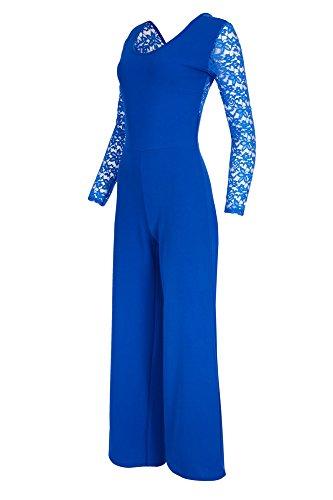 Laeticia Dreams -Tuta unica Donna blu royal 44