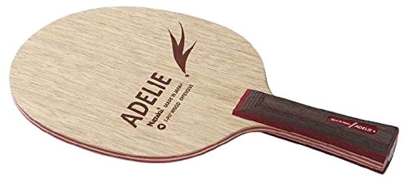 インストールメッセージ取り消すニッタク(Nittaku) 卓球 ラケット アデリー シェークハンド 攻撃用 7枚合板