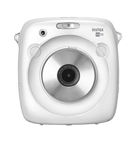 Fujifilm Instax SQUARE SQ 10 Hybride Sofortbildkamera weiß