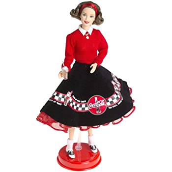 Barbie Coca Cola Cheerleader Mattel 074299283765