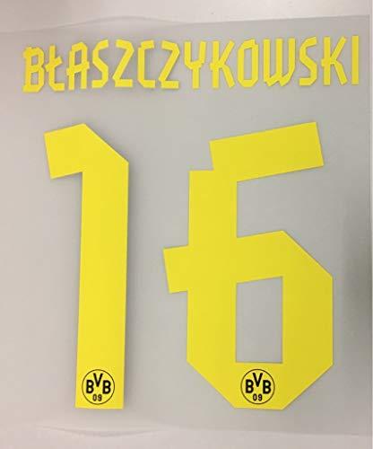Flock Original BVB Borussia Dortmund Trikot 17cm - BLASZCZYKOWSKI 16