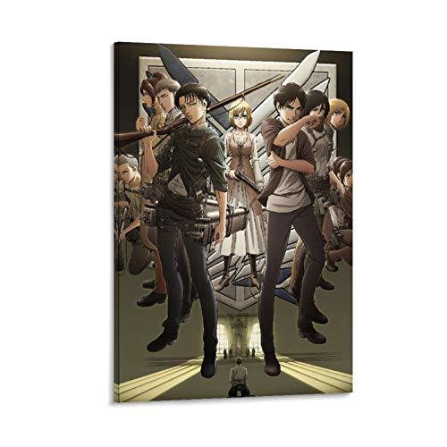Megiri Ataque sobre el Titan-,Wings-of-Liberty-Cartoons-Anime-(10) inspiradoras impresiones artísticas para pared de 30 x 45 cm para decoración del hogar