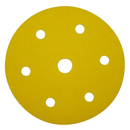 10x Papier Abrasif pour Meule ponceuse meuleuse velcro Ø 150 mm Grain 100