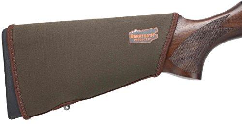 Beartooth StockGuard 2.0 - Premium Neoprene Gun Stock Cover - NO Loops Model (Brown)