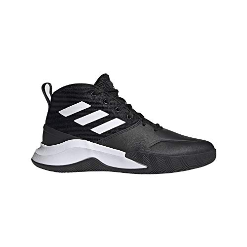 adidas OWNTHEGAME, Zapatillas de Baloncesto Hombre, NEGBÁS/FTWBLA/NEGBÁS, 41 1/3 EU