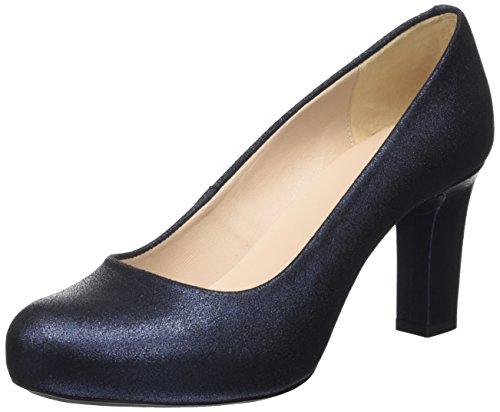 Unisa Numis_f17_MTS, Zapatos de Tacón Mujer, Azul (Baltic), 39 EU