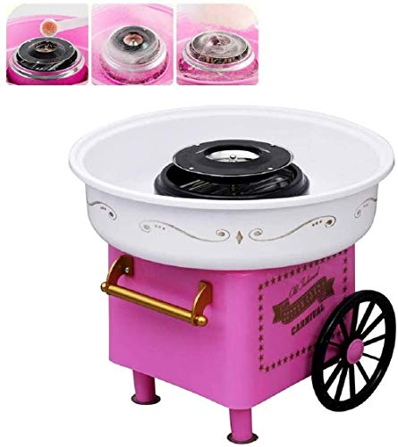 Electric Cotton Candy Machine, ANCROWN Mini Sugar Floss Maker, Great Gifts for Kids Birthday Parties DIY Homemade Use
