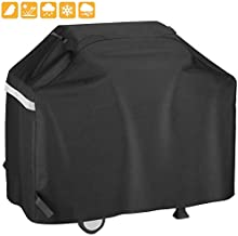 Grisun 55 Inch Grill Cover for 3 to 4 Burners Gas Grill, Waterproof Heavy Duty Gas Grill Covers, All Weather Protection BBQ Cover for Weber, Charbroil, Nexgrill, Brinkmann, All Weather Protection