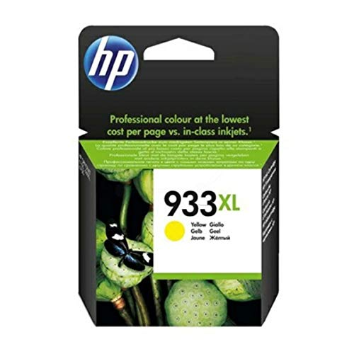 HP 933XL High Yield Yellow Original Ink Cartridge cartucho de tinta - Cartucho de tinta para impresoras