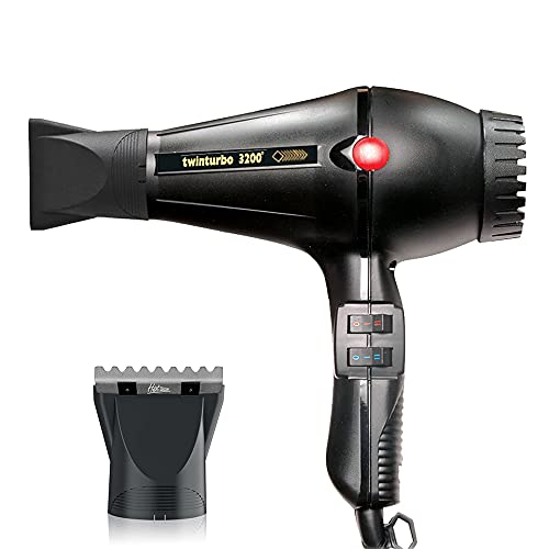 Turbo Power Twin Turbo Black 3200 and M Hair Designs Hot Blow...