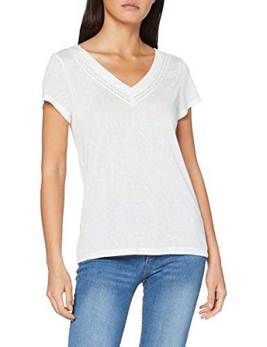 Springfield 5.Pc.Cuello Pico Entredos-C/97 Camiseta de Tirantes, Blanco (White_Print 97), S (Tamaño...
