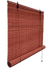 Victoria M. Rolgordijn bamboe bescherming tegen inkijk rolgordijn voor ramen en deuren (Maat en kleur naar keuze)